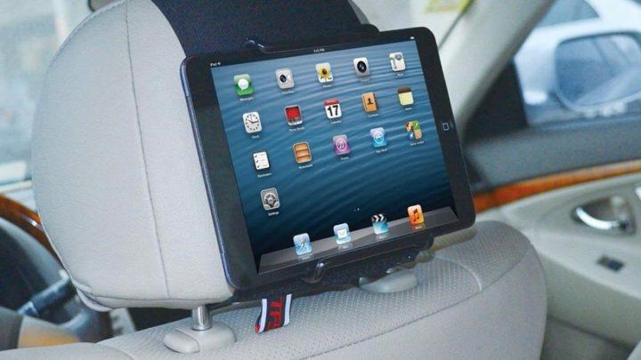 iPadが車載モニターに!iPad車載ホルダー
