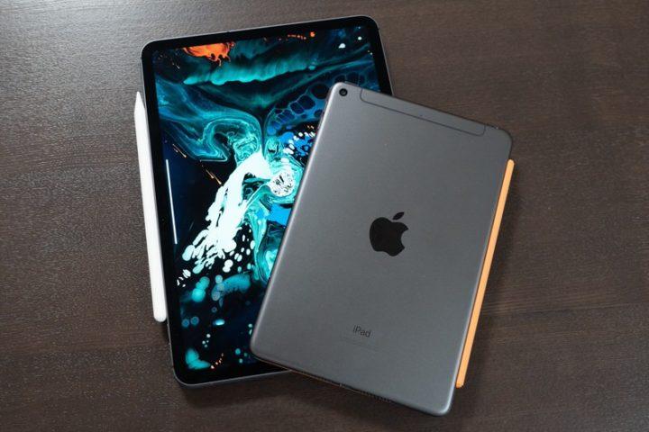 iPad mini(第5世代)と11インチiPad Pro