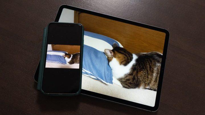iPhoneで撮影した写真はiCloud経由ですぐさまiPadでも見れる!