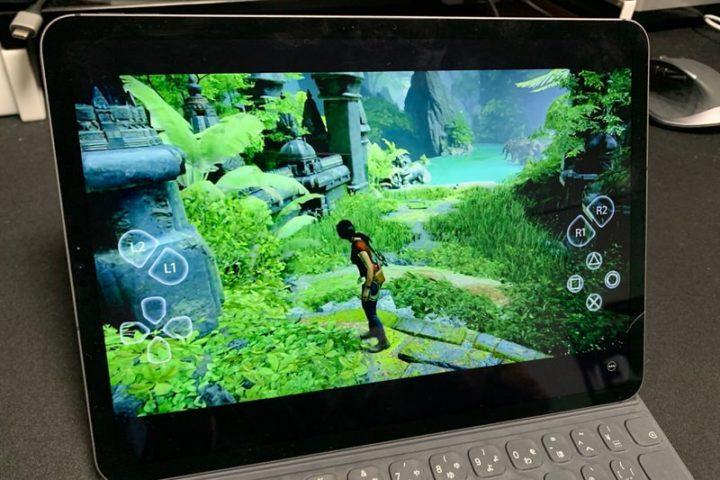 iPadでPS4のリモートプレイ