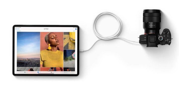 iPad ProのUSB-C
