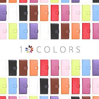 【ケートラ】10種類のカラーから選べる手帳型ケース