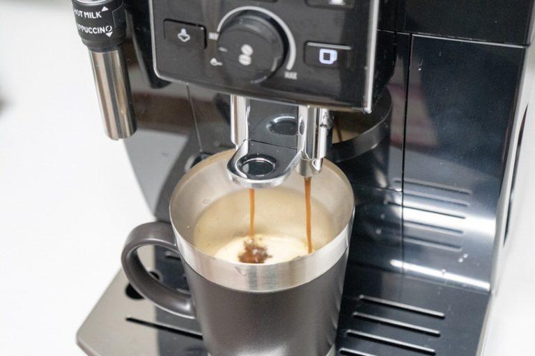 カフェ・ジャポーネは蒸らしながら抽出されるので1.2分かかる