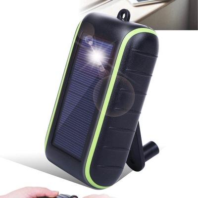 ソーラーパネル・手回し充電付きモバイルバッテリー「Chargi-Q mini」
