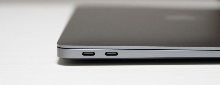 MacBook Air(2018)に搭載されたUSB-Cポート
