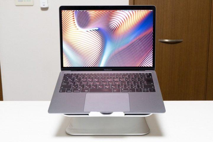 【Spinido】MacBookの質感にマッチするPCスタンド