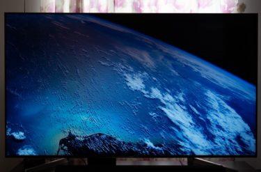 ソニー4Kテレビ「BRAVIA X9000F」購入レビュー!実際に使ってみた感想・評価