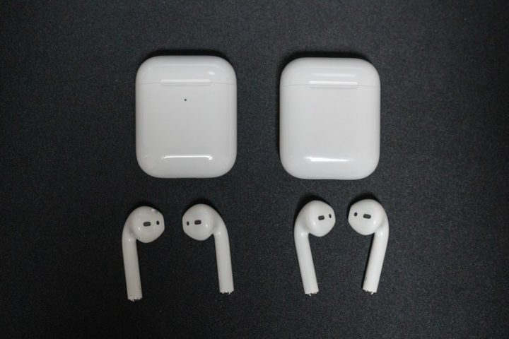 AirPods 第1世代と第2世代の比較