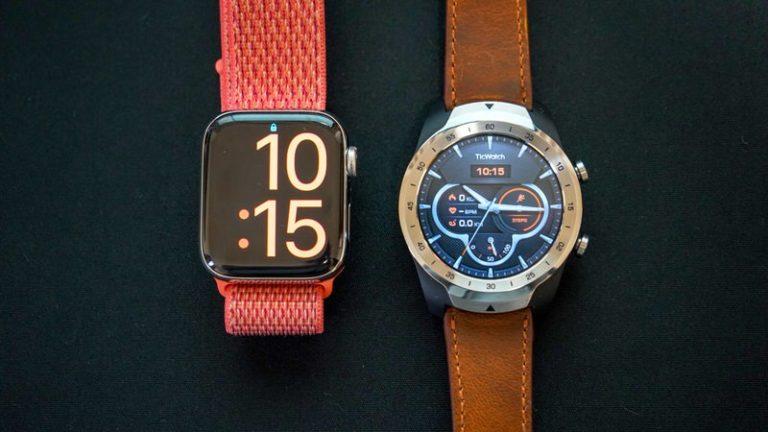 どっちがいい?Apple Watch使いがWear OSスマートウォッチを使ってみた。違いと比較