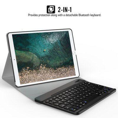 【ATiC】脱着可能なキーボード付きiPad Airケース