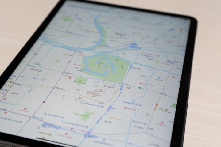 身軽なタブレットだからこそ「GPS」が便利