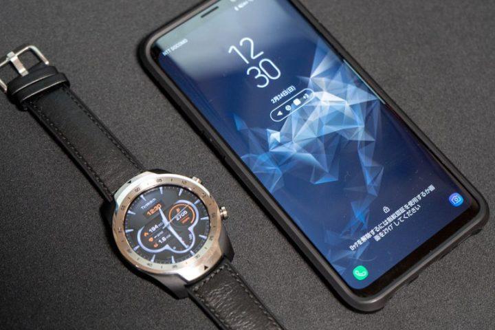 TicWatch ProとGalaxy S9