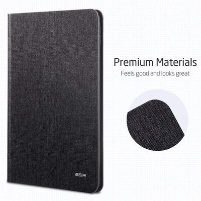 【ESR】おしゃれなスエード調デザインの手帳型ケース