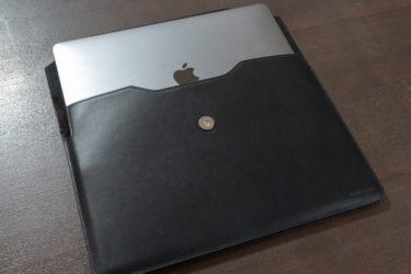 スリーブケースにMacBook Air 2018を収納