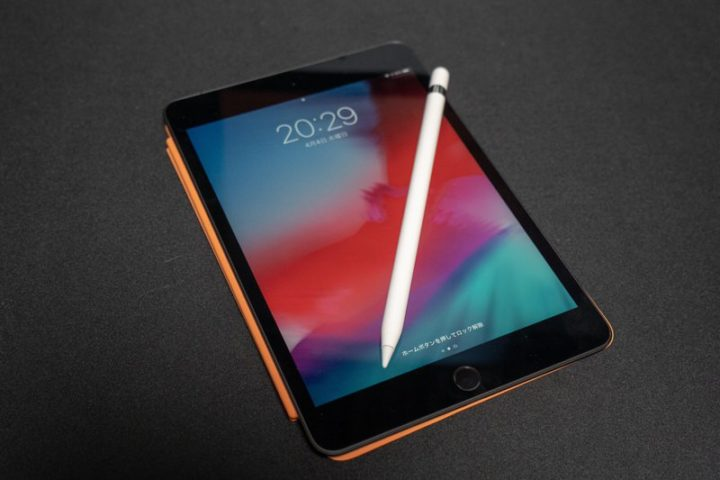 Apple Pencil(第1世代)とiPad mini(第5世代)