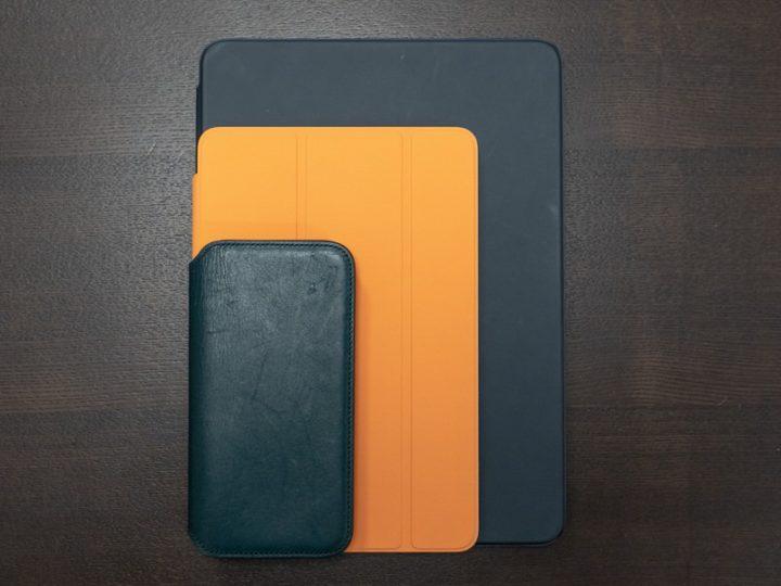 iPhone XSとiPad miniとiPad Pro 11