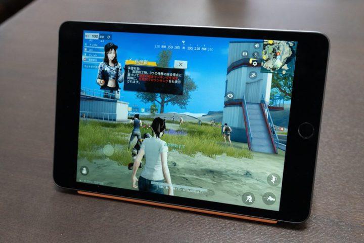 iPad miniはゲームアプリも快適にプレイできる