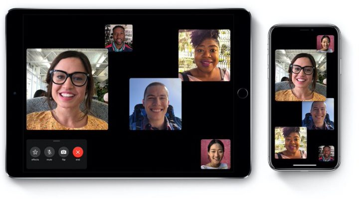複数の人と同時にビデオ通話できる「グループFaceTime」