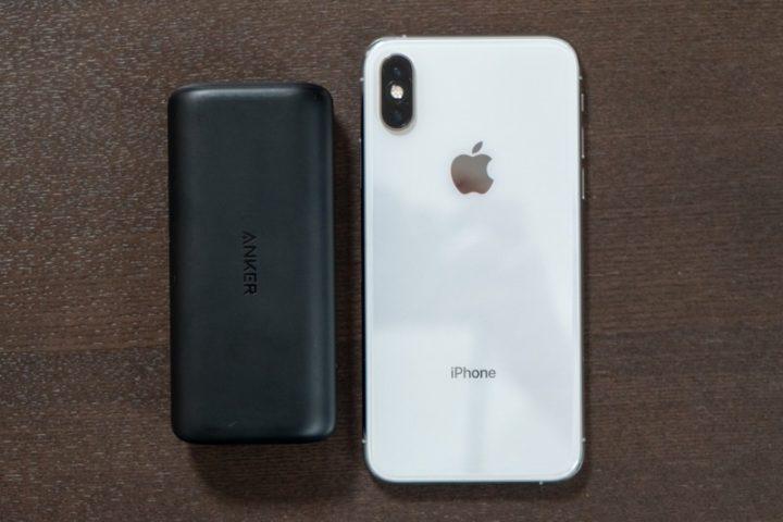 PowerCore 10000 PDとiPhone XS