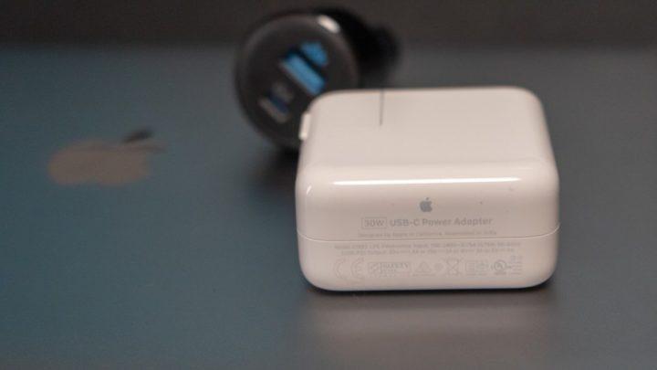PowerDrive Speed+ 2はMacBook Air付属の30Wアダプタと同等の出力