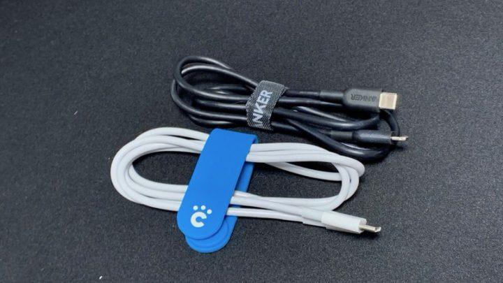 USB PD対応のApple純正「USB-C - Lightningケーブル」とAnker「PowerLine II USB-C & ライトニング ケーブル」
