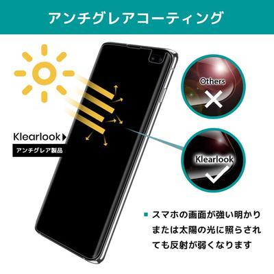 【KlearLook】アンチグレア(反射防止)タイプのTPUフィルム2枚セット