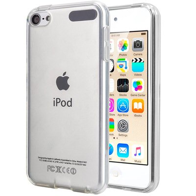 【TopAce】iPod touchのカラーを隠さないTPUクリアケース