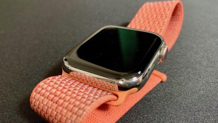 Apple Watchフィルム 装着1ヶ月半後の状態