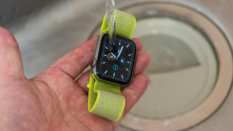 Apple Watchの防水機能
