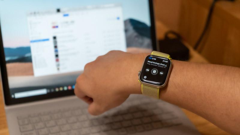 Apple WatchでiTunesを音楽コントロール