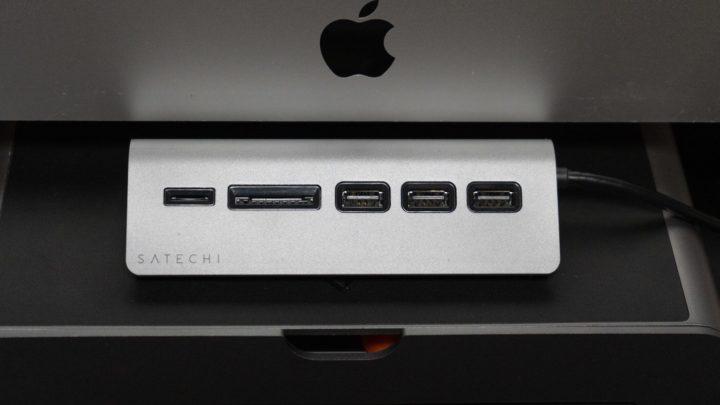 【Satechi】アルミニウム USB-Cハブ & カードリーダー