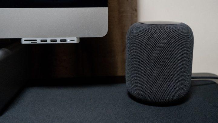 HomePodは「AirPlay」でiMacの外部スピーカーとして使用できる