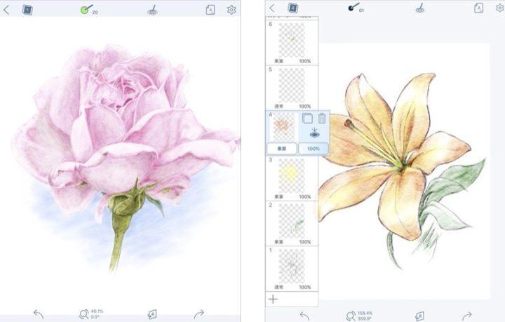 iPadアプリ お絵描き・イラスト 彩えんぴつ