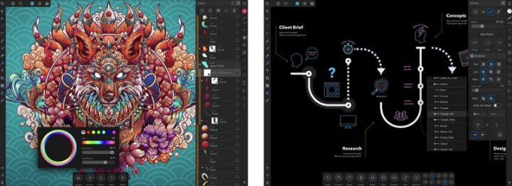 iPadアプリ お絵描き・イラスト Affinity Designer