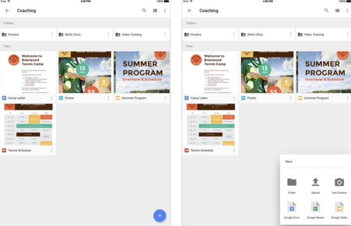 iPadアプリ 仕事効率化 Googleドライブ