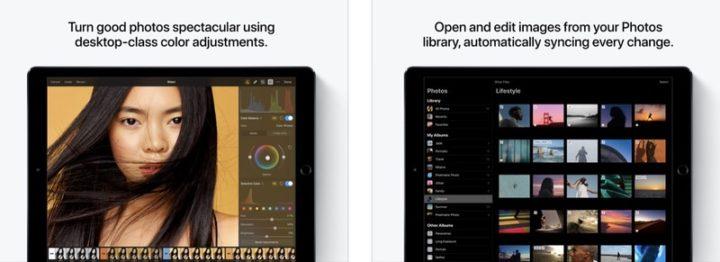 iPadアプリ 画像編集 Pixelmator Photo
