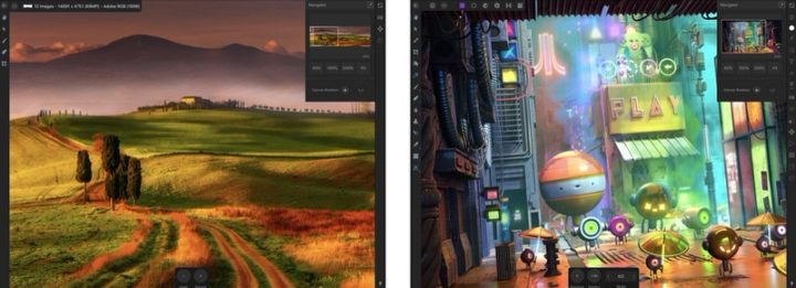 iPadアプリ 画像編集 Affinity Photo