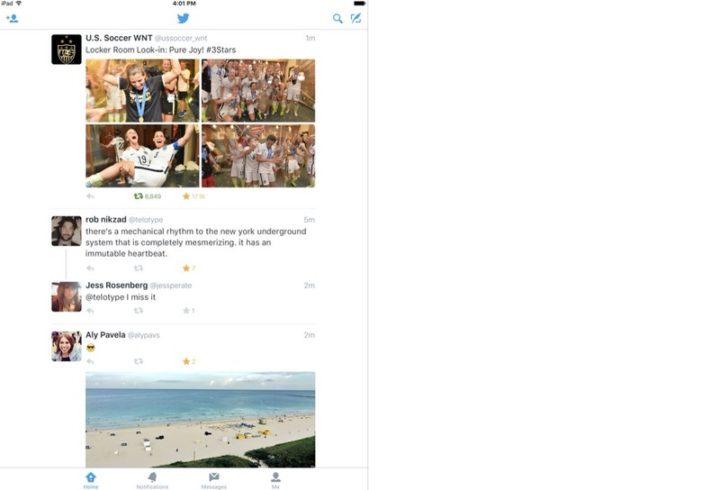 iPadアプリ SNS Twitter