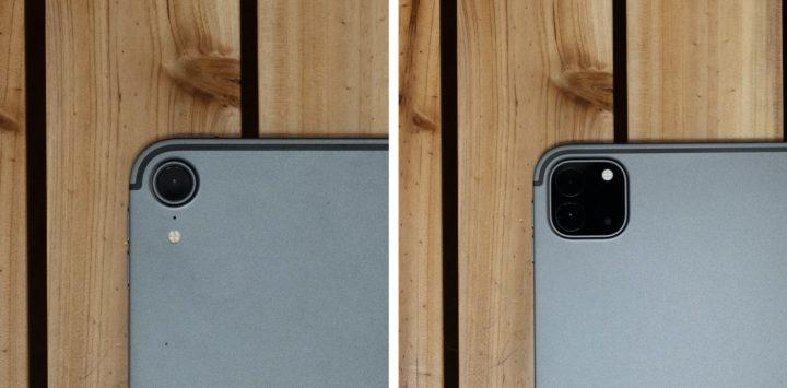 iPad Pro 異なるのはカメラのみでサイズはまったく同じ