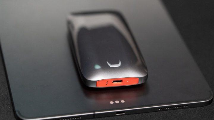Thunderbolt 3対応の外付けSSDをiPad Proに接続してみた