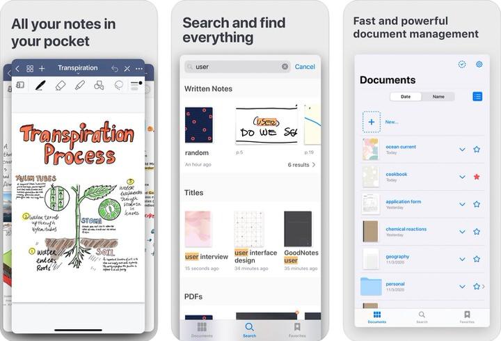 GoodNotes 5|PDFが扱いやすいノートアプリ