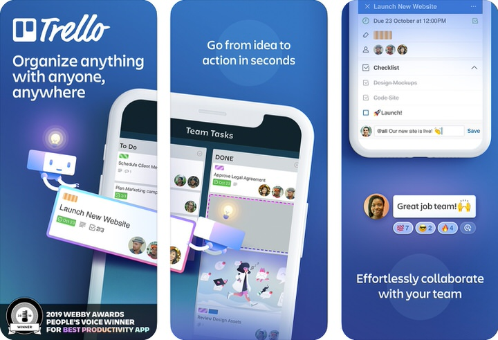 Trello|ボードにメモを貼り付ける感覚でタスク管理