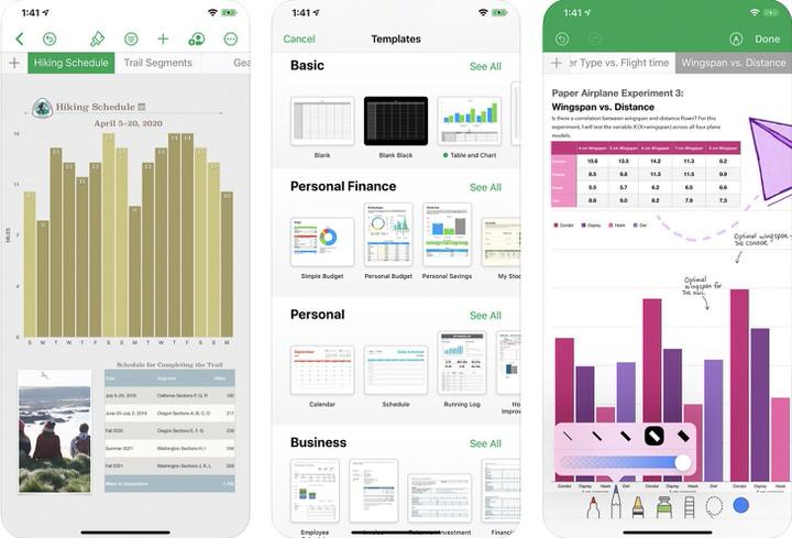 iWork|Apple提供のOffice系アプリ