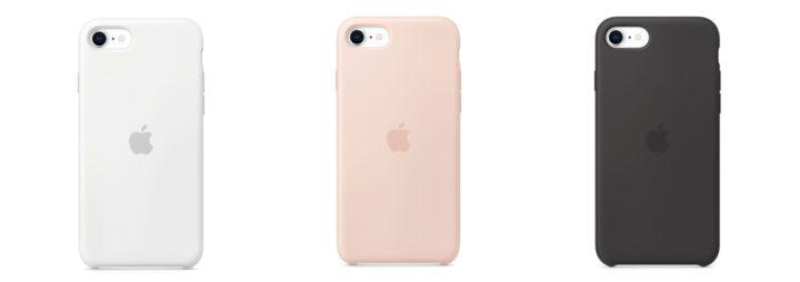 【Apple】iPhone SEシリコーンケースのカラーラインアップ