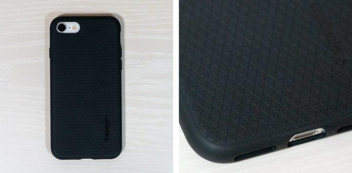 iPhone SE 【Spigen】リキッド・エアー