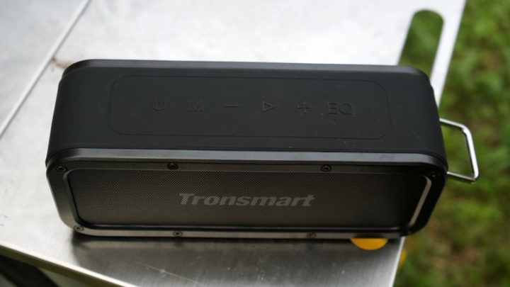 Tronsmart Element Forceの各ボタン