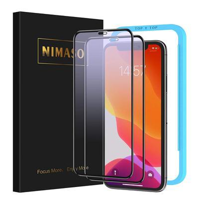 【Nimaso】ブルーライトカット対応ガラスフィルム iPhone 11