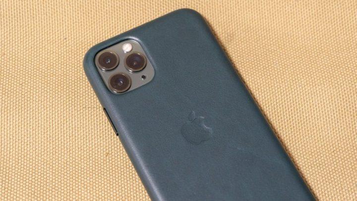 iPhone 11 Pro Apple純正レザーケース1