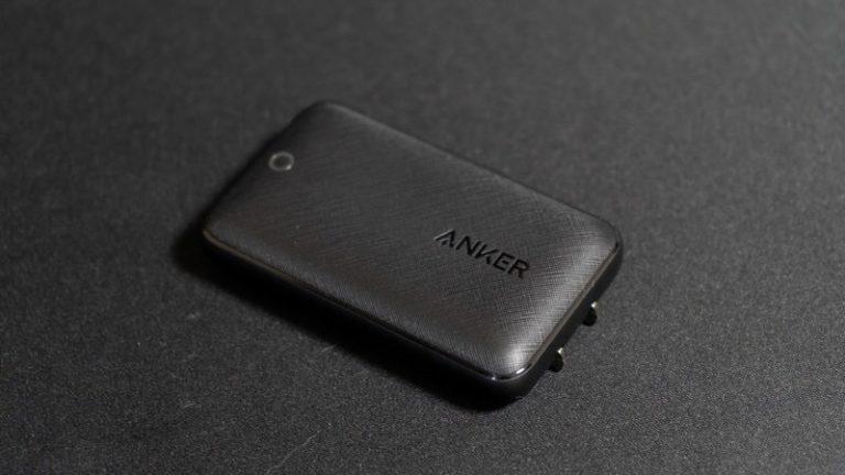 【Anker PowerPort Atom III Slim レビュー】厚さがたったの1.6cm!ポケットに収まるUSB PD 30W USB-C充電器