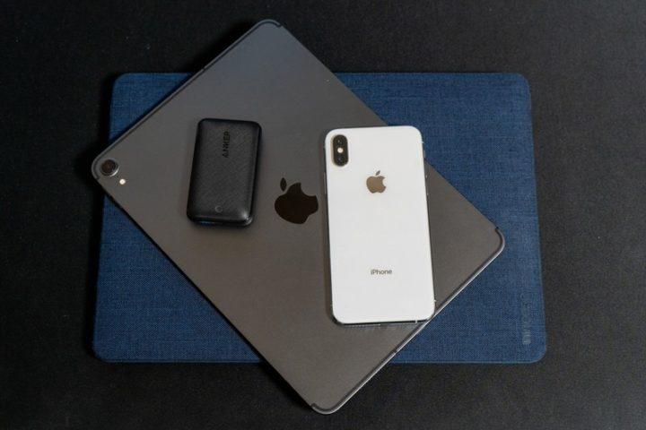 一緒に持ち出すことが多い「iPhone XS」「iPad Pro 11」「MacBook Air」